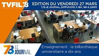 7/8 Le Journal – Edition du vendredi 27 mars 2015
