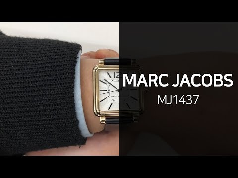 마크제이콥스 MJ1437 가죽시계 1분 영상 - 타임메카