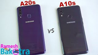 Samsung Galaxy A20s vs A10s SpeedTest and Camera Comparison