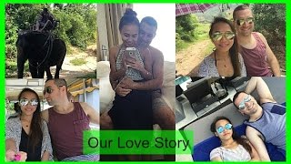 OUR LOVE STORY : STORYTIME (AUSTRALIAN & FILIPINA) | rhaze Video
