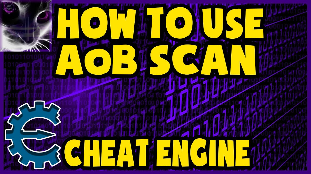 How to use AoB (Array of Bytes) Scan in Cheat Engine (in detail)