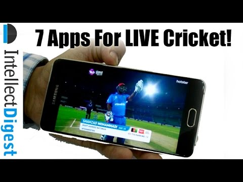 Top 7 Apps To Watch Live T20 World Cup 2016 & Scores On Smartphones & Tablets: T20 World Cup