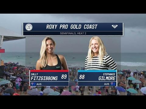 Roxy Pro Gold Coast: Semifinals, Heat 2