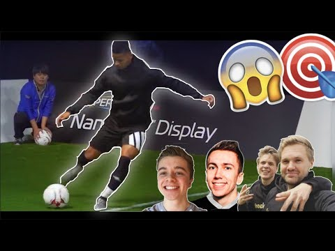 EPIC ACCURACY CHALLENGE ft. ChrisMD, Freekickerz, Miniminter, Callux, TBJZL, TheBurntChip & more!