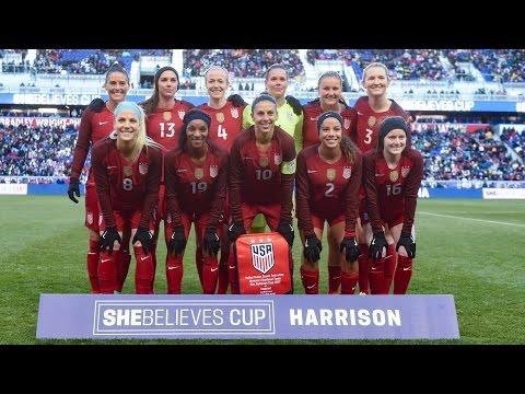 WNT vs. England: Highlights - Mar. 4, 2017