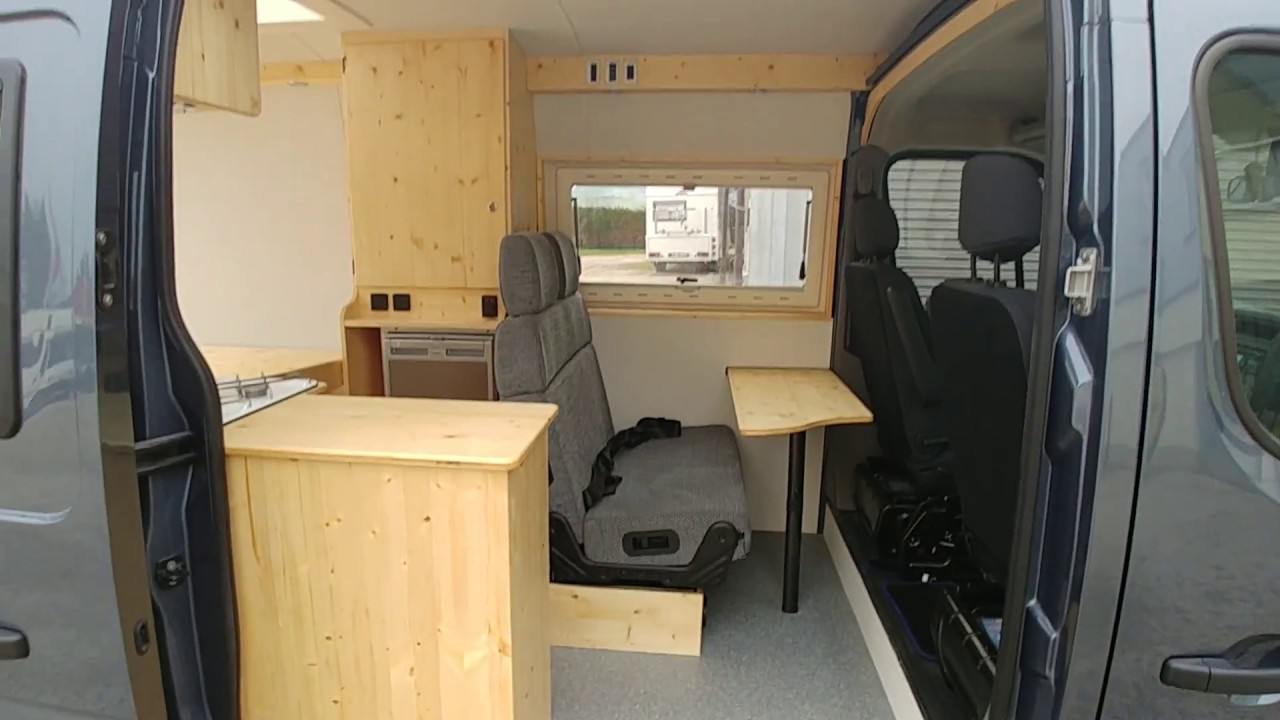 komplettausbau wohnmobil opel movano youtube. Black Bedroom Furniture Sets. Home Design Ideas