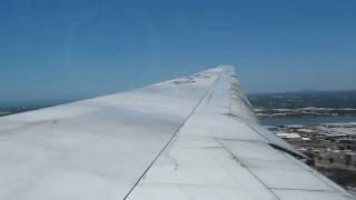 thai airways boeing 777 200 landing at brisbane international airport ybbn