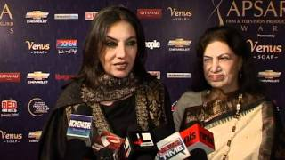 Bollywood World - Bollywood Celebs Get Candid At Apsara Awards 2012 - Latest Celeb Events