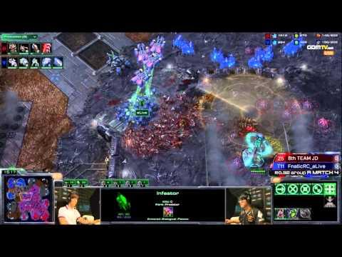 [WCS KR] Jaedong vs Alive Game 1