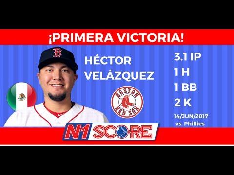 Primera victoria de Héctor Velázquez