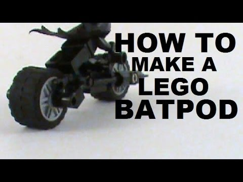 How To Make A Lego Batpod A Stop Motion Tutorial Youtube