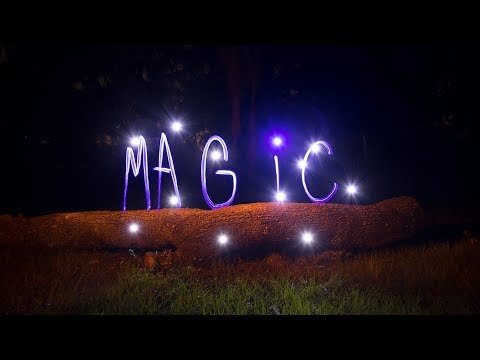 Light Painting Tutorial, How To Write With Light