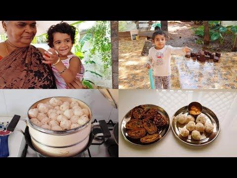 healthy-breakfast-vlog---kozhukattai-&-patra-recipe---yummy-tummy-vlog
