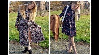 OOTD AUTUMN: Sukienki w kwiaty