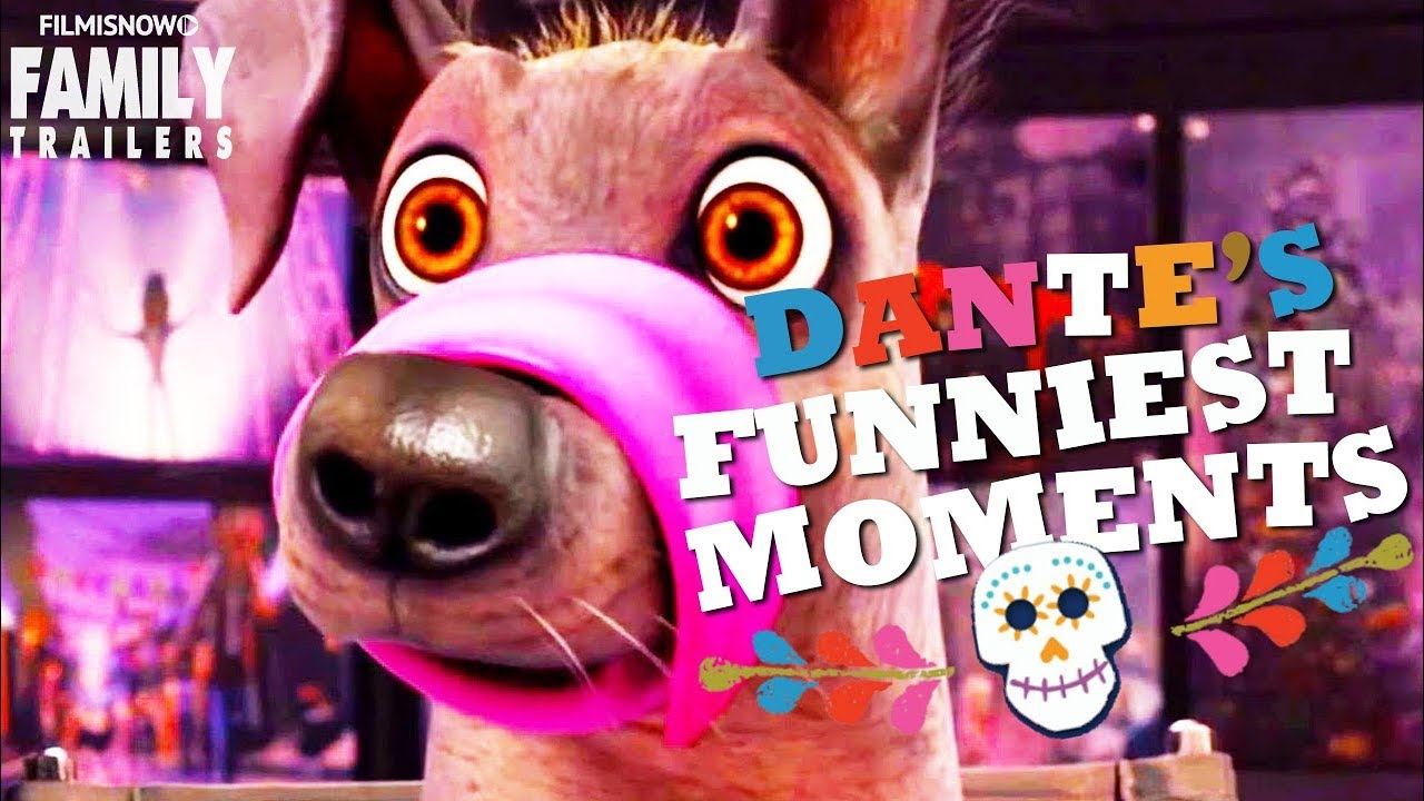 Coco Funniest Dante The Loveable Dog Moments Disney Pixar Animation