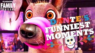 "COCO | Funniest DANTE ""The Loveable Dog"" Moments - Disney Pixar Animation"