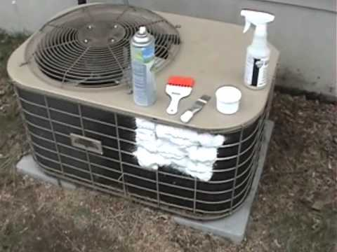 Cleaning Air Conditioner Coils You