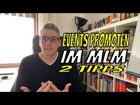 Events promoten - So machst du deine MLM Trainings und MLM Events voll