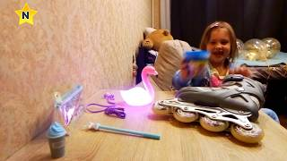подарунки на день народження частина 2 розпакування youbox ролики відро слайма