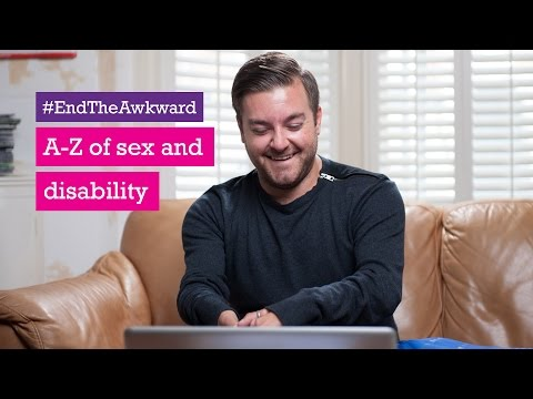 Alex Brooker for Scope's A to Z of Sex and Disability - #EndTheAwkward