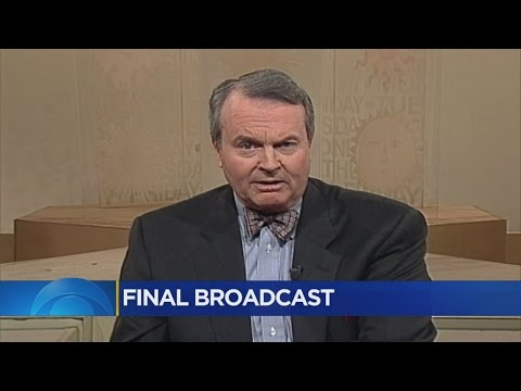 Final Broadcast For Charles Osgood
