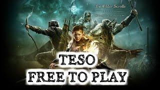 The Elder Scrolls Online - ПОЛНЫЙ ФРИ ТУ ПЛЭЙ НА НЕДЕЛЮ!!