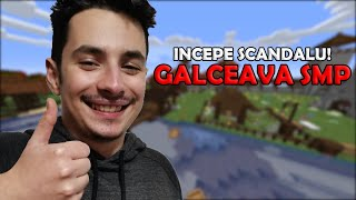 Am facut un server de MINECRAFT cu YOUTUBERI si TWITCH STREAMERI - GALCEAVA SMP
