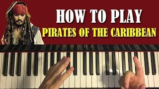 Baixar HOW TO PLAY - Pirates Of The Caribbean Theme (Piano Tutorial Lesson)
