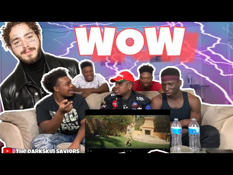 "Post Malone - ""Wow""   Reaction"
