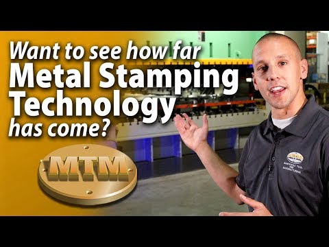 Metal Stamping up to 800 tons - I'm Max from Manitowoc Tool & Manufacturing