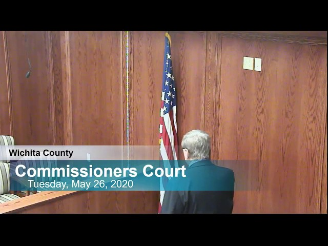Commissioners Court 05/26/2020