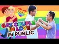 Social Experiment: Philippine Gay Couple Expressing Love In Public | HumanMeter