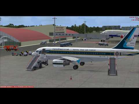 อธิบายการบิน Airbus X Extended A318/A319/A320/A321  Fly VTUD To VTBD [tutorial full Flight] 2017