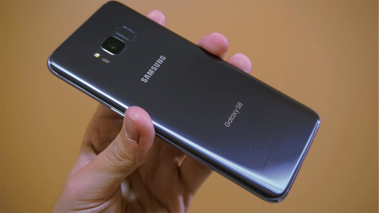 Samsung Galaxy S8 Unboxing Orchid Grey Youtube