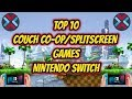 Top 10 Couch Co-op/Split screen Games Nintendo Swtch
