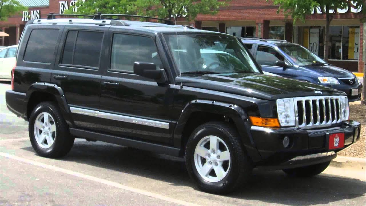 2007 jeep commander sport youtube. Black Bedroom Furniture Sets. Home Design Ideas