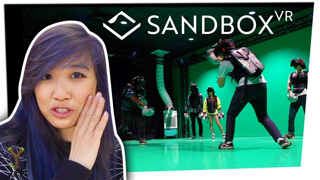 We Do Virtual Reality with Sandbox VR!