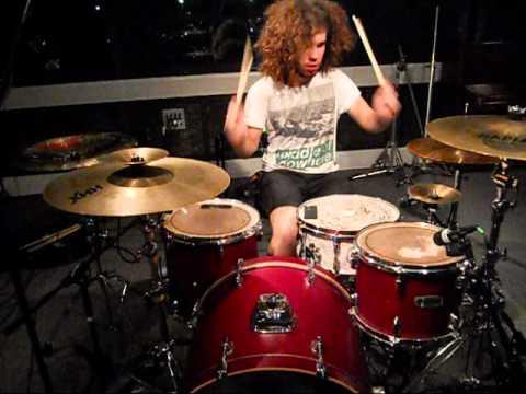 The Devil Wears Prada Escape drum cover - izzy - Zombie series