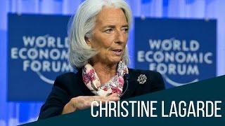 Christine Lagarde, pionera en un mundo de hombres