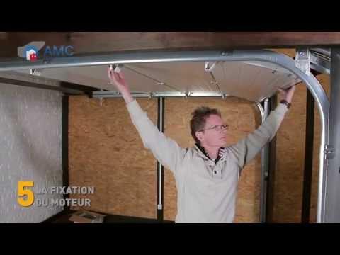 Poser votre porte de garage sectionnelle AMC