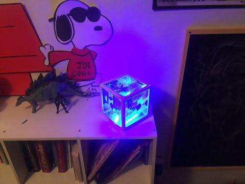 Star Wars Epoxy Resin Night Light