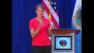 Secretary Jewell Town Hall for Interior Employees