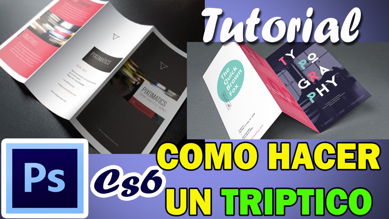 Tutorial como hacer un triptico en photoshop cs6 youtube - Como se poda un rosal ...