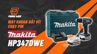 Máy khoan bắt vít dùng pin Makita HP347DWE
