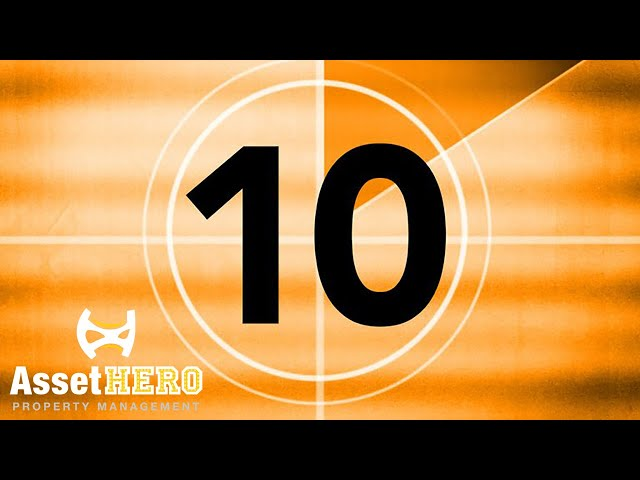 10 Numbers from Asset Hero Property Management