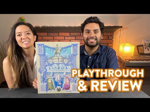 Lisboa - Playthrough & Review