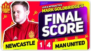 GOLDBRIDGE! Newcastle 1-4 Manchester United Match Reaction