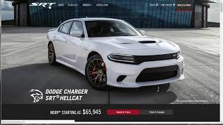 2017 Dodge Charger SRT Hellcat - Build Your Own - Pricing and Options Overview