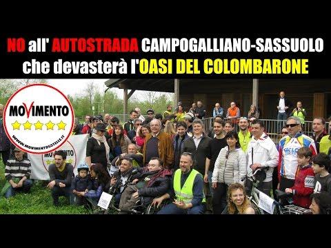 Salviamo OASI Colombarone! NO Autostrada Sassuolo Campogalliano