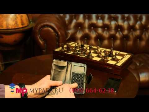 Чехол-книжка для Alcatel One Touch Star Dual Sim 6010D черный кожаный